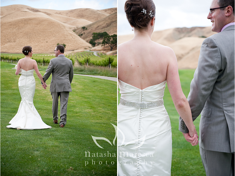Wente Vineyards Wedding Livermore